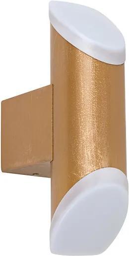 Rábalux 8000 Aplice de exterior Reynosa auriu metal LED 6W 270lm 3000K IP44