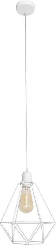 Lustra KARO 1xE27/60W/230V alb