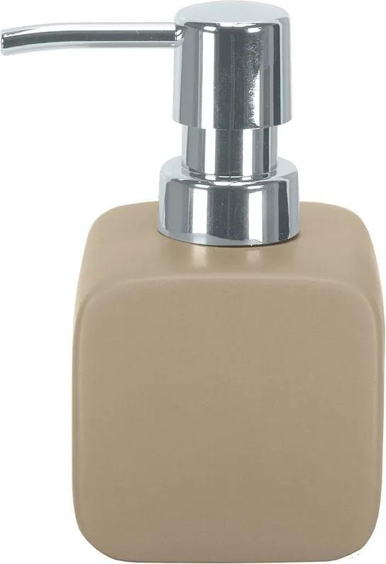 Dispenser săpun lichid Kleine Wolke Cubic bej