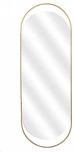 Oglinda ovala din alama 168 cm Sanou XL