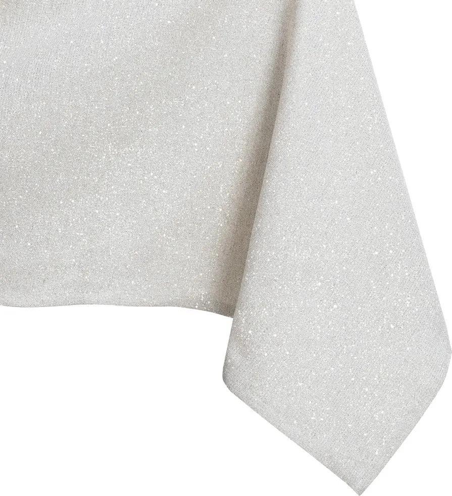 Față de masă DecoKing Sparkle Cream, 110 x 160 cm, crem