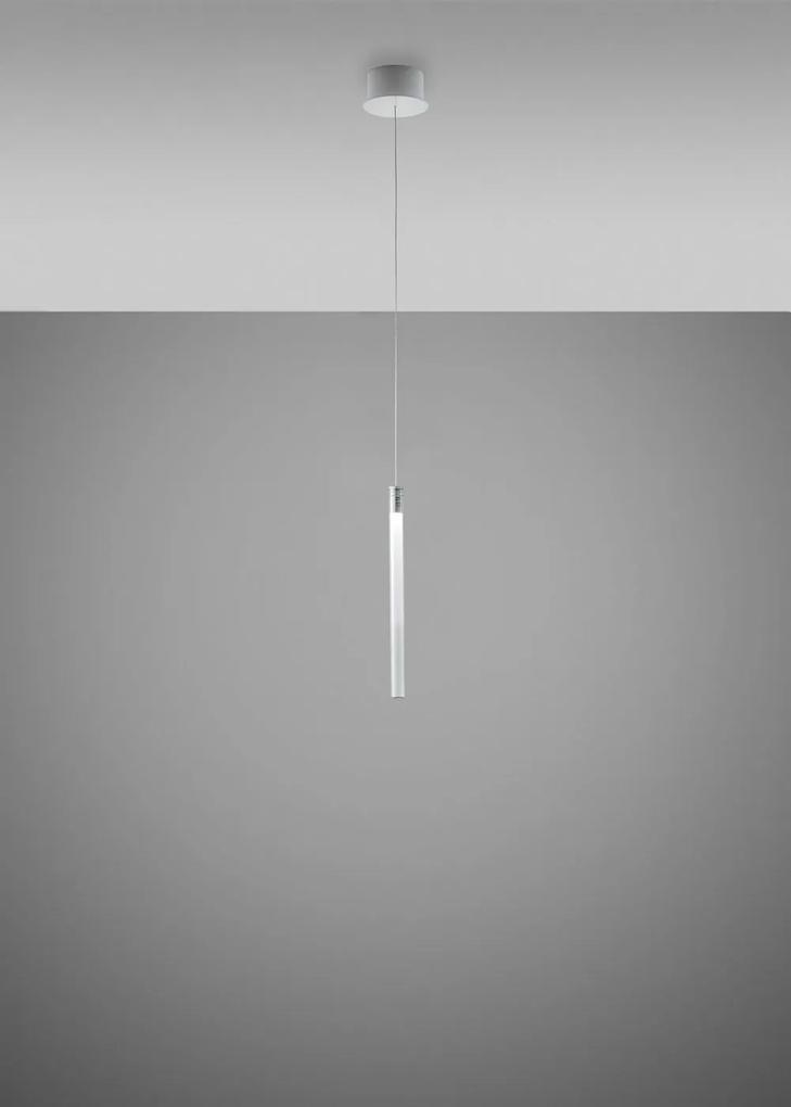 Multispot A01 - Pendul cu abajur din cristal
