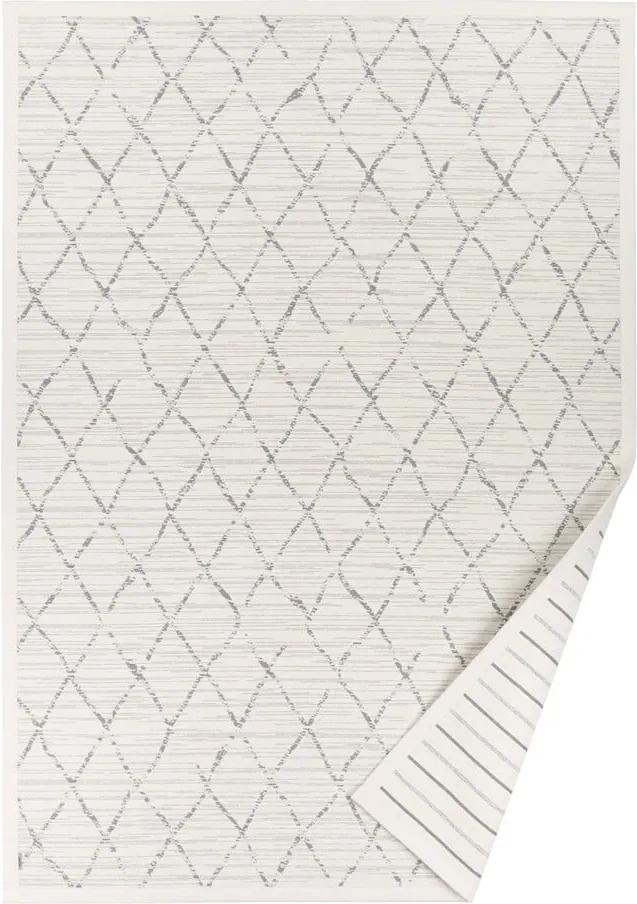 Covor reversibil Narma Vao, 70 x 140 cm, alb
