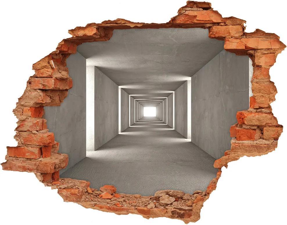 Autocolant autoadeziv gaură Tunelul de beton
