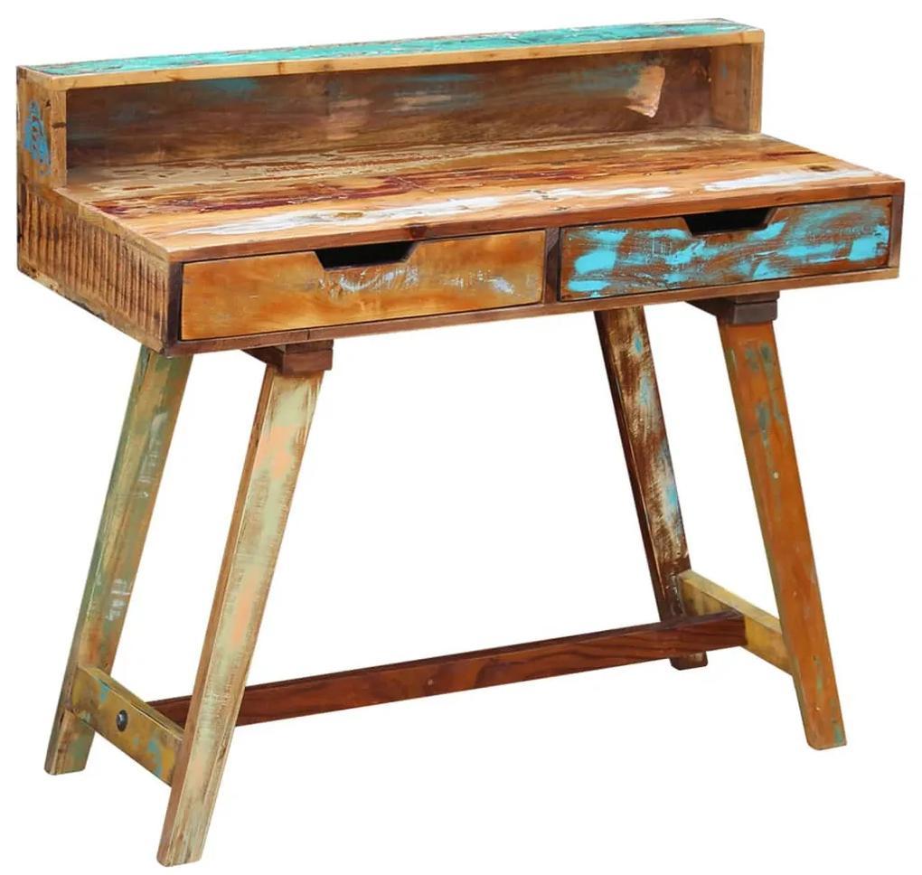 243270 vidaXL Birou din lemn reciclat de esență tare