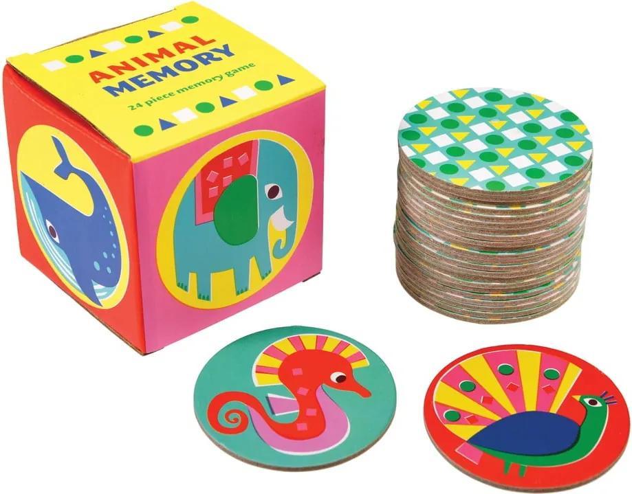 Joc de memorie pentru copii Rex London Animal