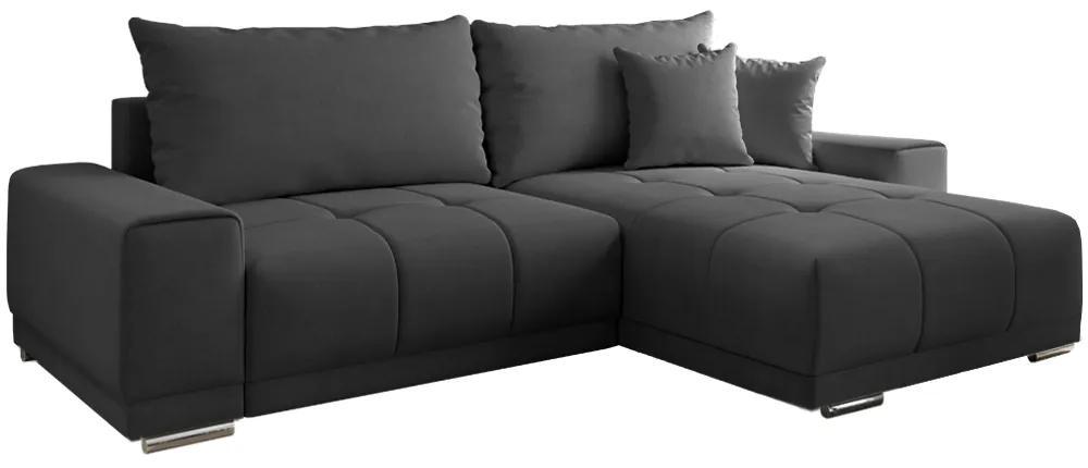 Canapea universală, gri închis, KEVAN