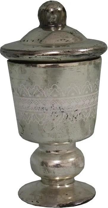 Recipient cu picior Antic Line Bonboniére, argintiu