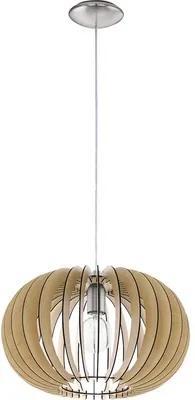 Pendul Stellato E27 max. 1x60W, Ø400 mm, lemn artar