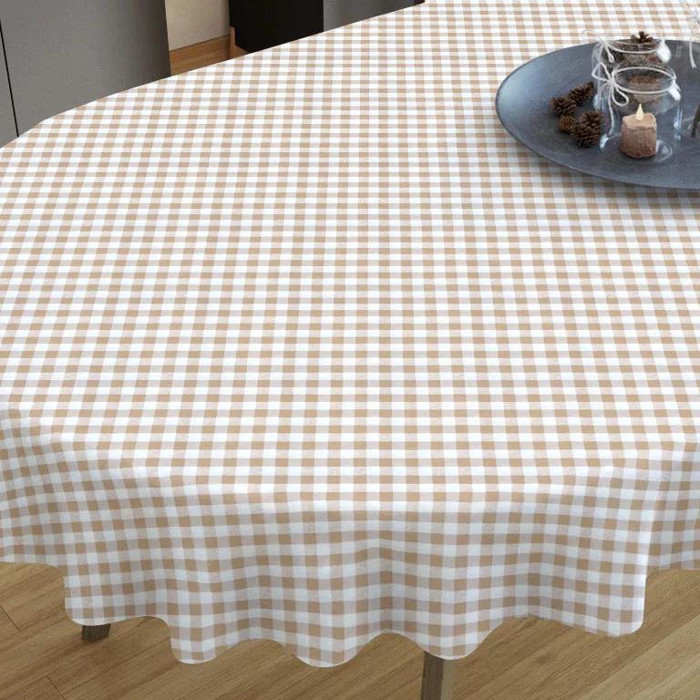 Goldea față de masă decorativă menorca - model 004 - ovale 40 x 80 cm