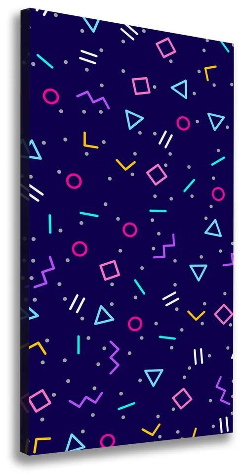 Tablou pe pânză canvas Fundal geometrică