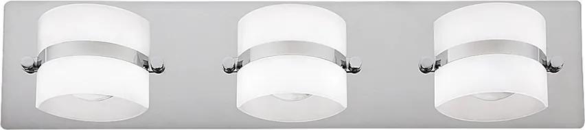 Rabalux 5491 - Aplică perete baie LED TONY 3xLED/5W/230V