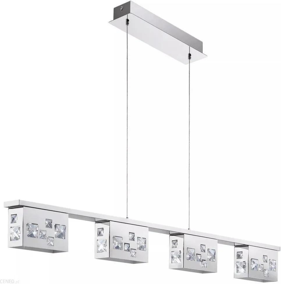 Lustră pe cablu LED de cristal TRESANA 4xLED/5,8W/230V