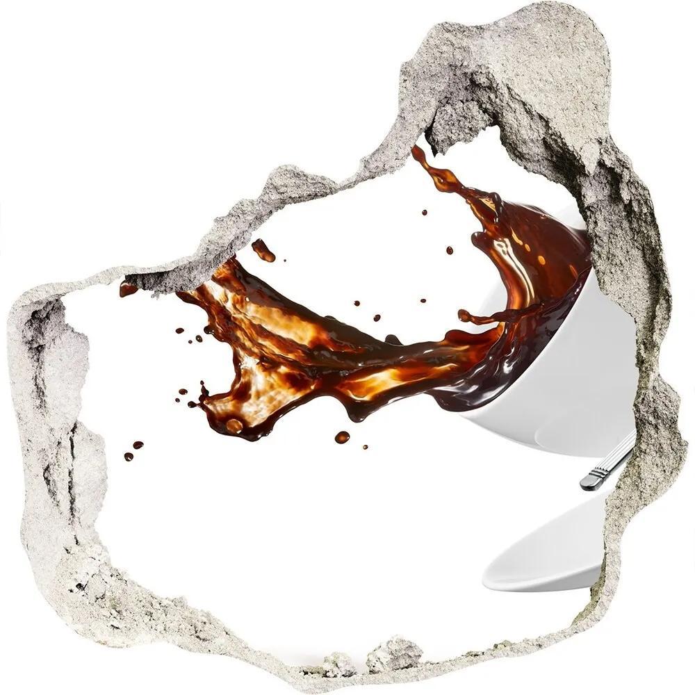 Autocolant autoadeziv gaură Vărsat cafea
