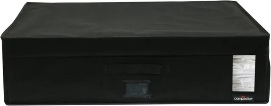 Cutie depozitare cu vacuum Compactor Infinity, capacitate 180 l, negru