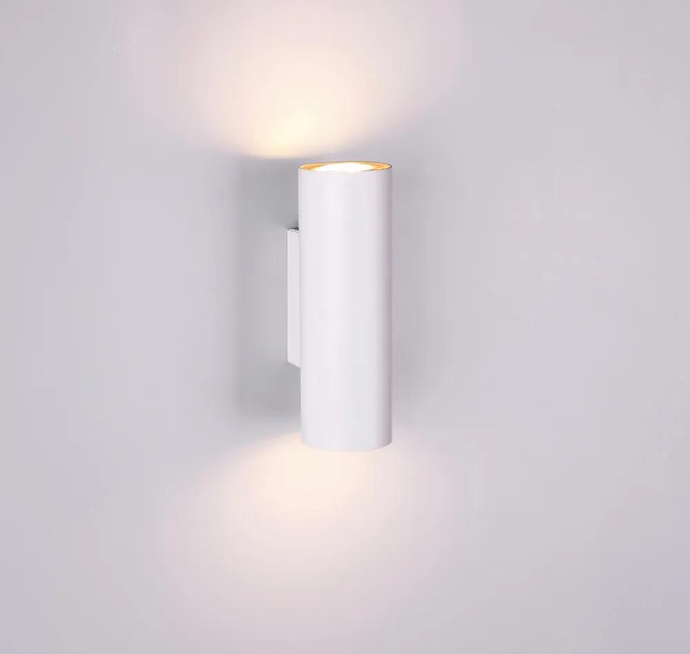 Trio MARLEY 212400201 Aplice perete alb excl. 2 x GU10 ↕ 18cm/ ↔ 6cm/ ↗ 7,8cm