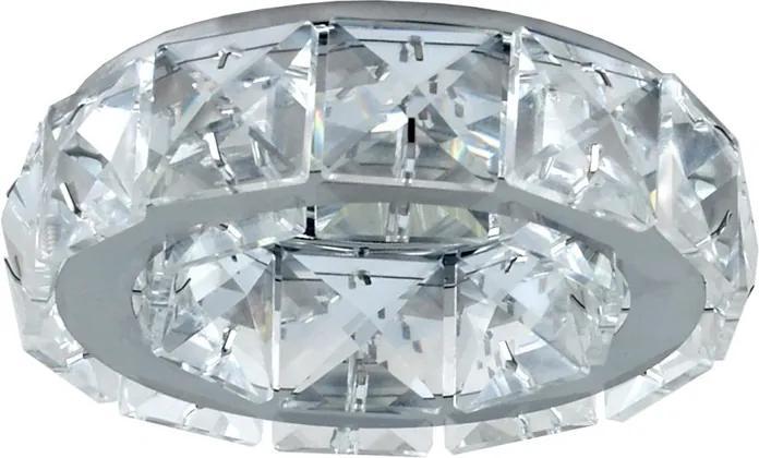 Luxera 71055 - Corp de iluminat tavan fals CRYSTALS 1xGU10/50W/230V