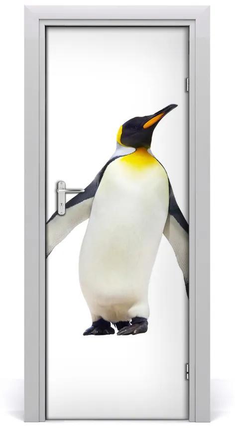 Autocolante pentru usi perete Penguin