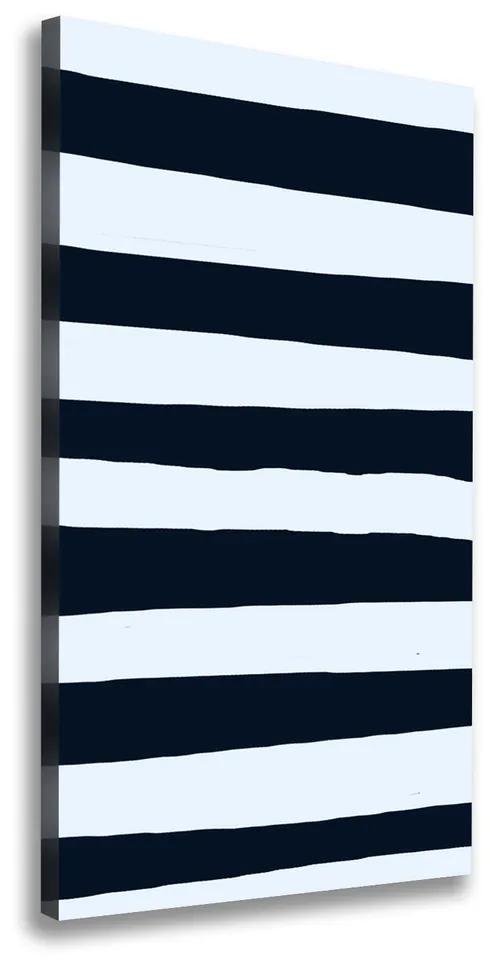 Tablou pe pânză canvas Fundal Striped