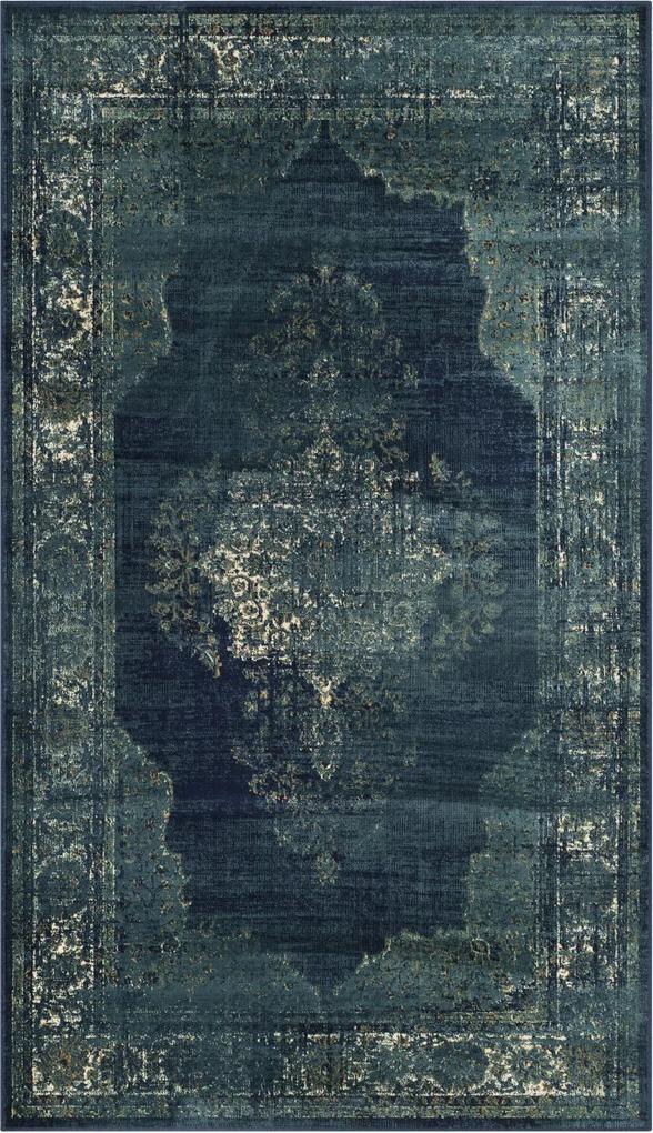 Covor Oriental & Clasic Sibyla, Albastru, 100x140