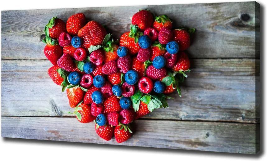 Imprimare tablou canvas Inima de fructe