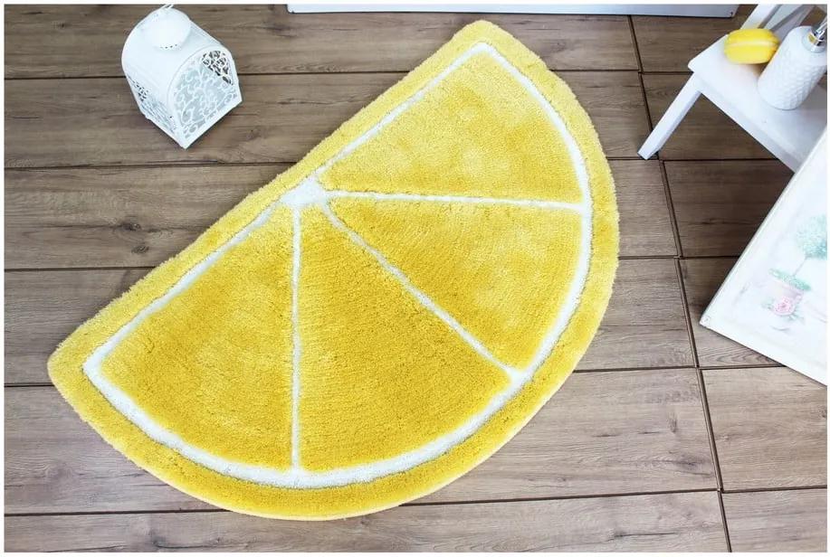 Covor pentru baie Limon, 100 x 60 cm