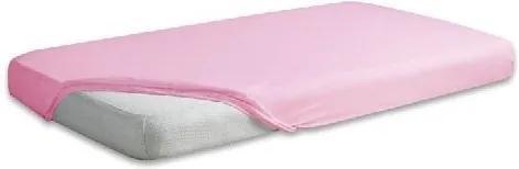 Husa impermeabila pentru saltele Frotte 70x140cm Baby Matex Pink 10