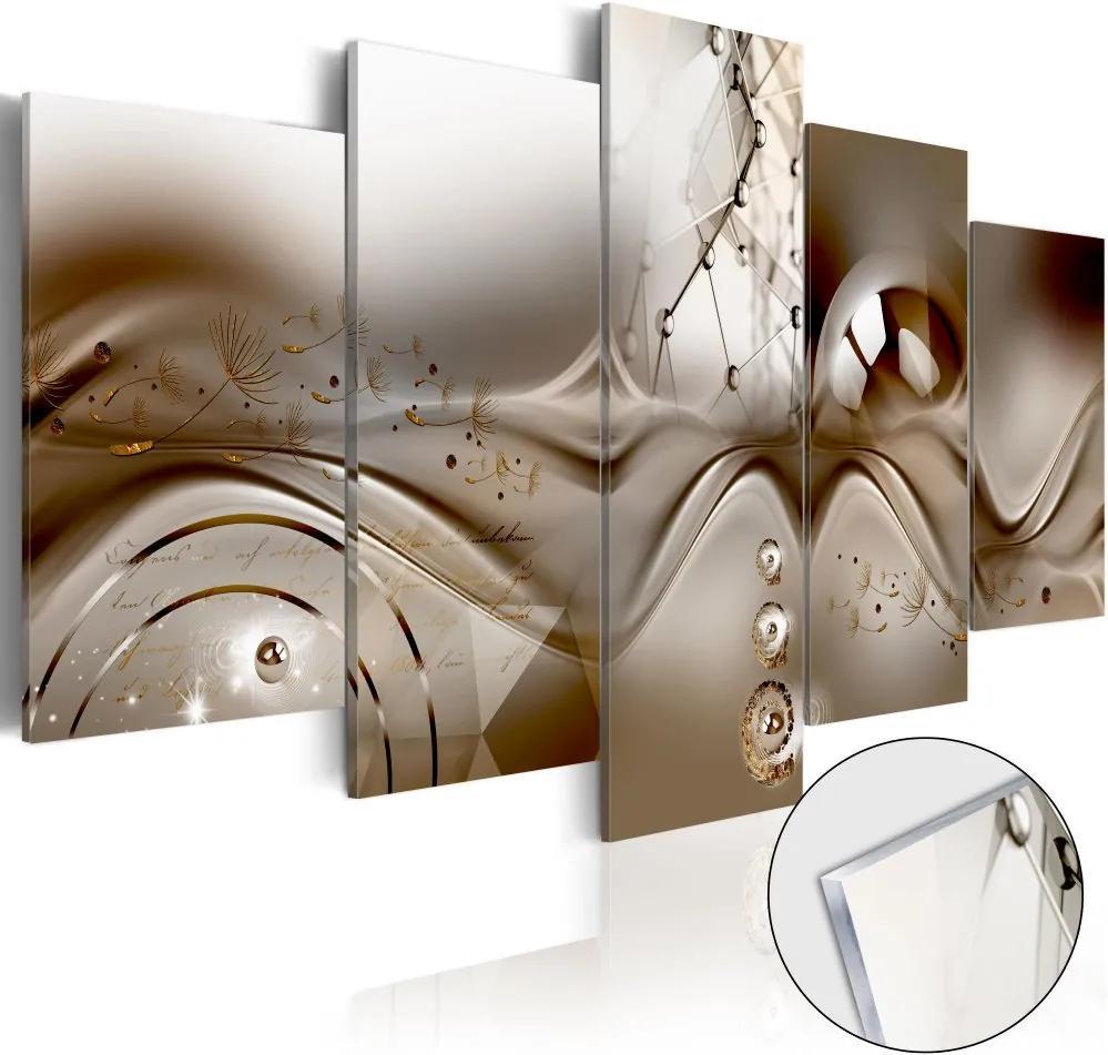 Bimago Imagine pe sticlă acrilică - Artistic Disharmony 100x50 cm