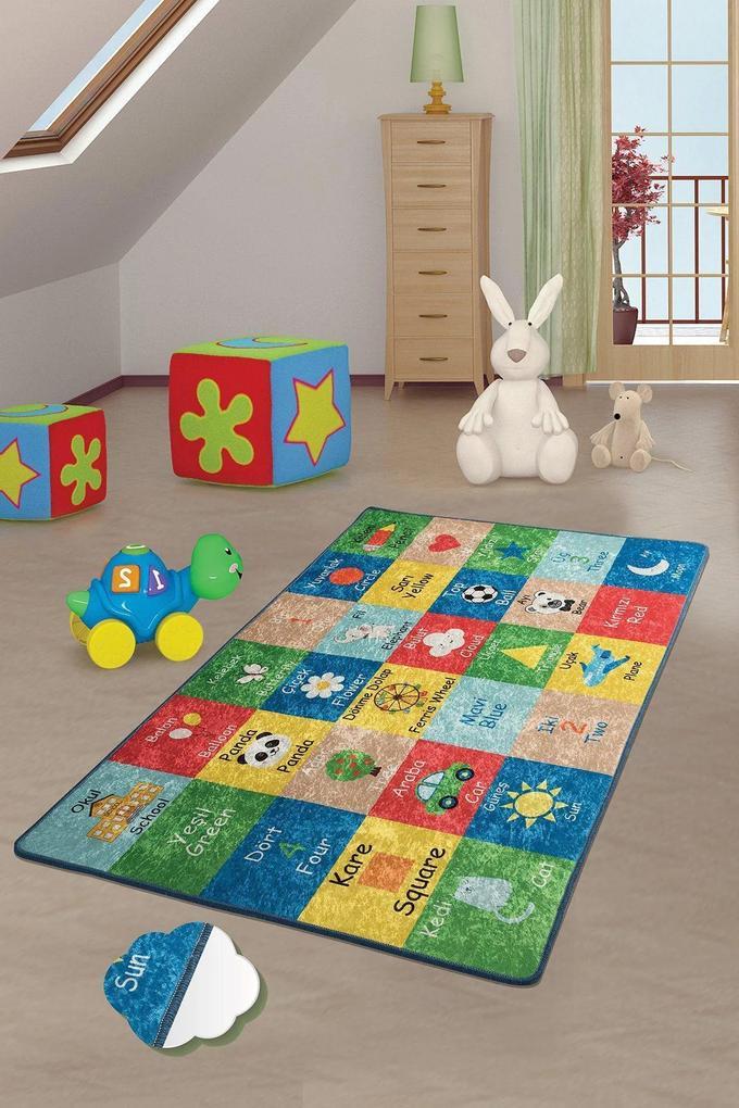 Covor pentru copii Learning - 200 x 290 cm