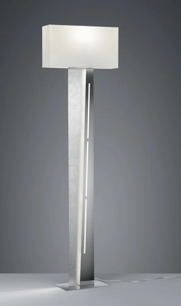 Trio 475210289 Lampadare NESTOR argintiu metal incl. 1 x SMD, 13,5W, 3000K, 1100Lm 1100lm IP20 A