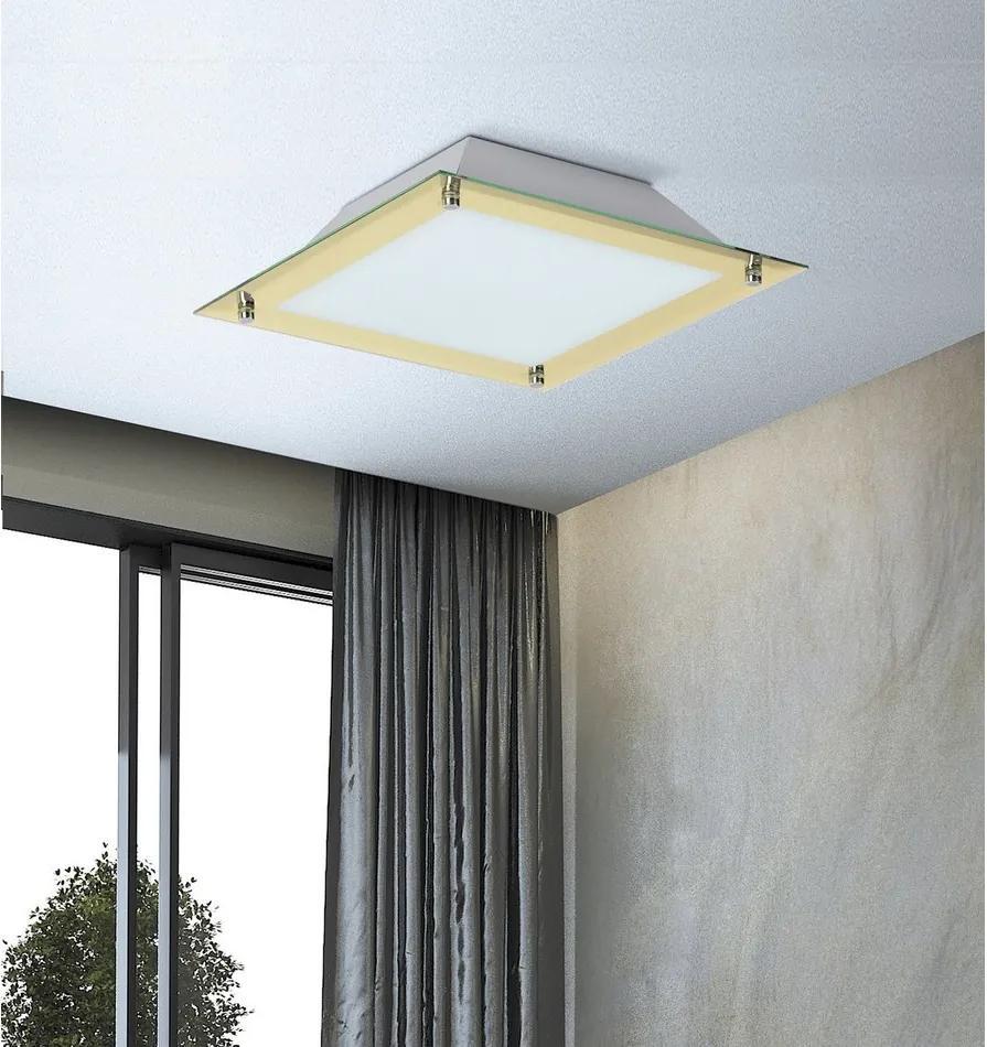 Rábalux Lars 3046 Plafoniere auriu alb LED 18W