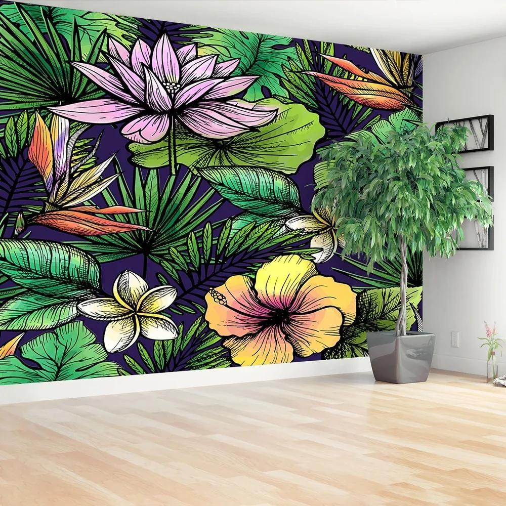 Fototapet Flori tropicale