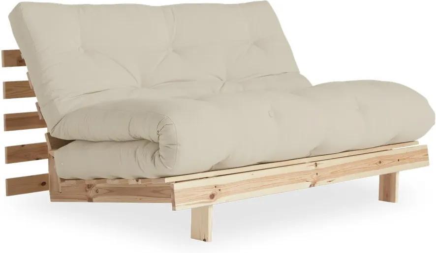 Canapea extensibilă Karup Design Roots Raw/Beige