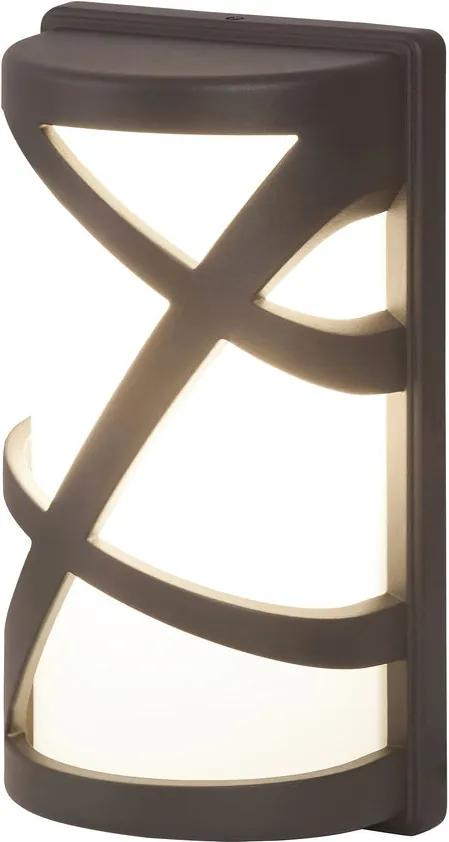 Rábalux Durango 8767 Aplice pentru iluminat exterior gri alb 1 x E27 max. 40W 14,6 x 26,7 x 9,8 cm