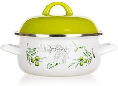 Oală emailată Banquet Olives 18 cm, 18 cm