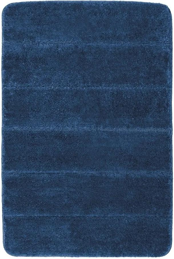 Covor baie Wenko Steps, 90 x 60 cm, albastru închis