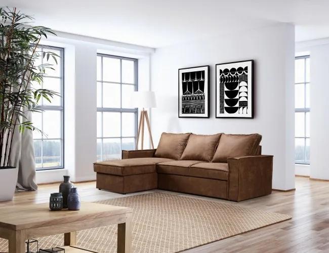 Coltar extensibil cu lada de depozitare, universal (pe stanga sau pe dreapta), Nisa Maro, l229xA160xH92 cm