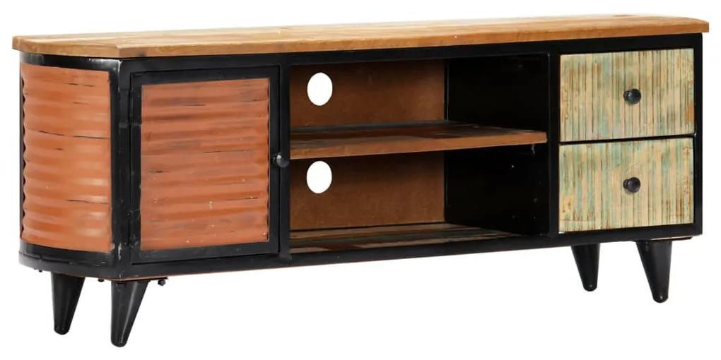 247921 vidaXL Comodă TV, 120 x 30 x 45 cm, lemn masiv reciclat