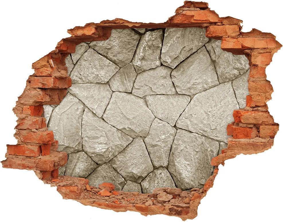 Autocolant autoadeziv gaură Perete de piatra