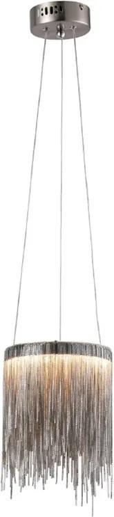 Pendul CASCATA SATIN Milagro Modern, LED, Nichel, ML3792, Polonia