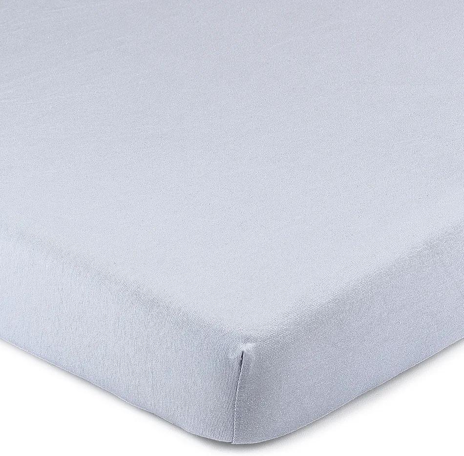 Cearşaf 4Home Jersey, cu elastan, albastru, 160 x 200 cm, 160 x 200 cm