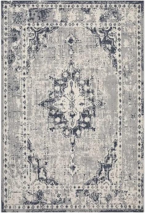 Covor Verline, Gri/Crem, 160 x 230 cm