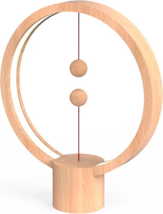 Veioză Heng Balance - Round - Lemn Deschis
