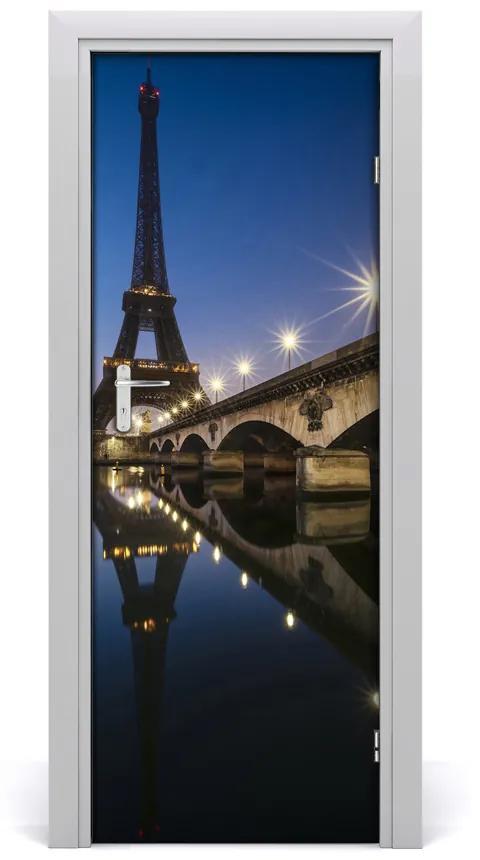 Autocolante pentru usi usa autoadeziv Turnul Eiffel