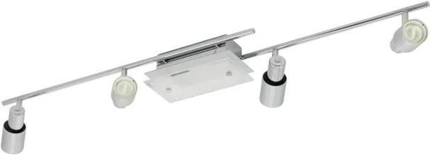 EGLO 90028 - Lampa spot NIXON 4xGU10/9W + 1xG9/9W