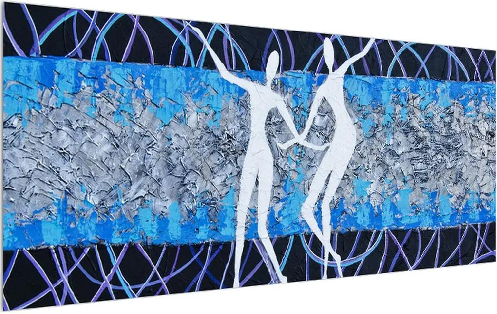 Tablou modern cu dansatori (K014696K12050)