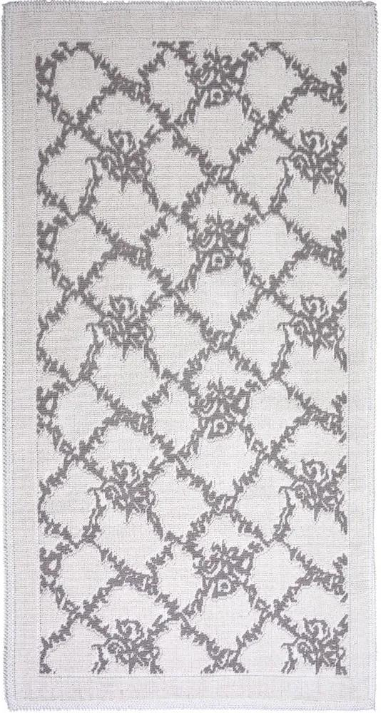 Covor din bumbac Vitaus Sarmasik, 80 x 150 cm, taupe
