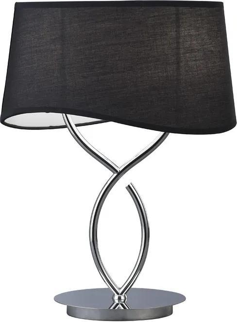 Mantra 1916 Veioze, Lampi de masă NINETTE crom metal 2xE14 max. 20W