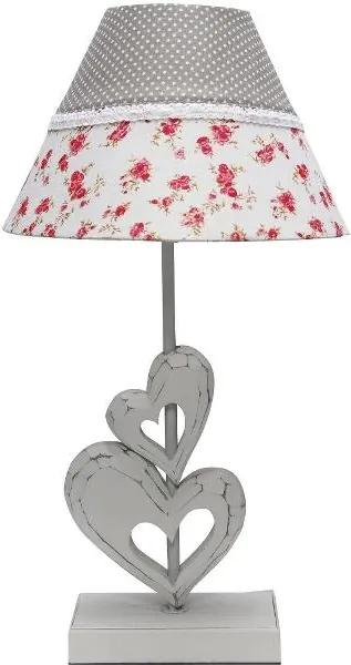 Veioza Romantic Celine, 49x25x25 cm