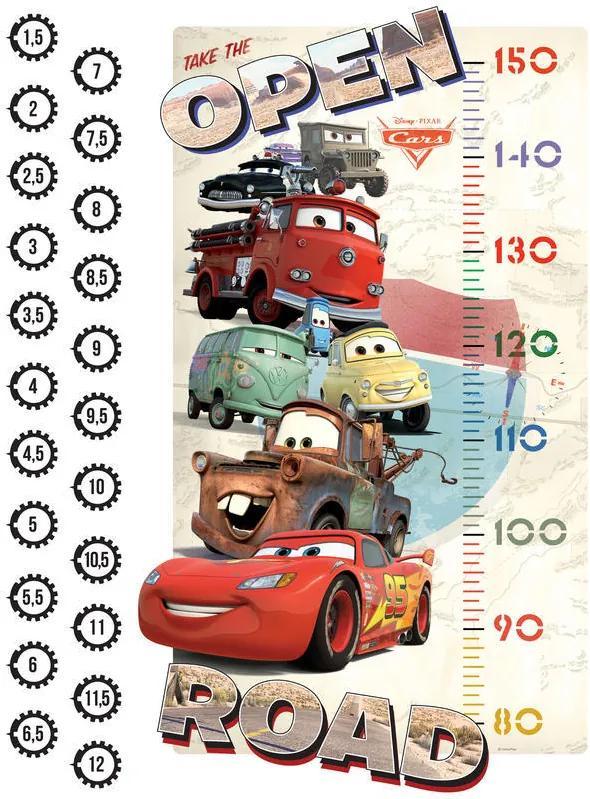 AG Design Disney Cars - autocolant de perete 65x85 cm